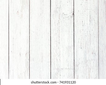 White soft wood surface texture background, wood planks