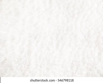 White soft wool background texture