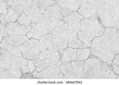 White soil drought cracked texture