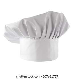 white space and cook hat