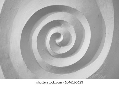 white spiral / abstract background
