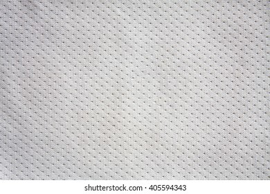 White sports clothing fabric jersey texture