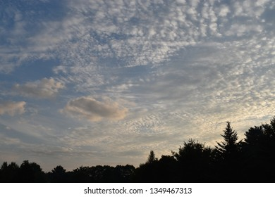 White Spotted clouds