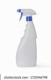 White sprayer on a white background