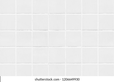 White Square Tiled Texture Background