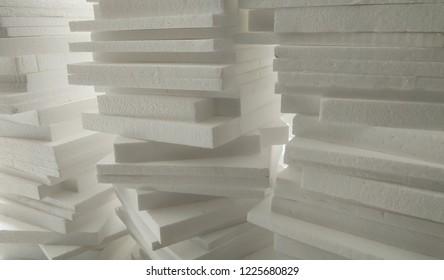 White Stack Styrofoam