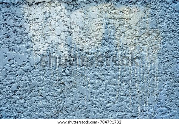 White Stain Spray Paint On Concrete Stock Photo Edit Now