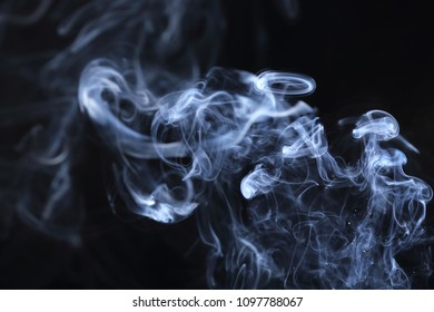 White steaming cigarette smoke background  textures