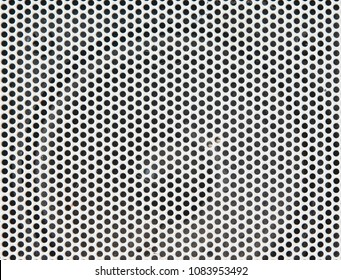 white steel mesh screen background and texture