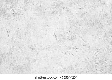 White stone background, Rough texture concrete cement wall background, Building surface banner, interior design wallpaper, poster, backdrop