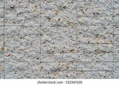 White stone block texture background