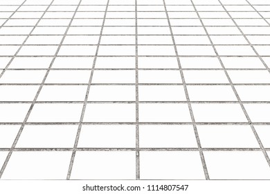 White stone street floor pattern and background
