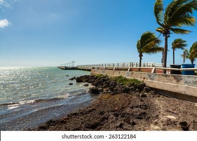 White Street Pier in Key West, Florida.