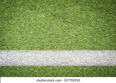 white stripe on soccer field