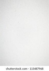 White striped list of paper