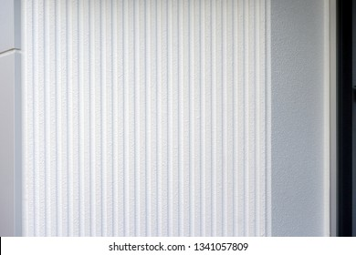 White striped outer wall