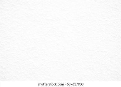 White Stucco Concrete Background.