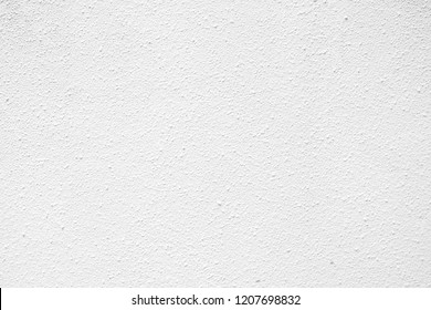 White Stucco Texture Background.
