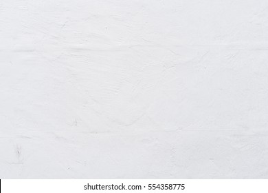 White stucco wall texture background. Abstract background, empty template.