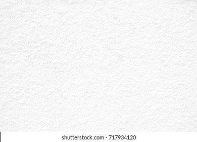 White Stucco Wall Texture Background.