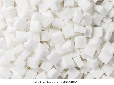 White Sugar cubes (full frame image) for use as background image or as texture