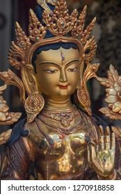White Tara Buddha Statue