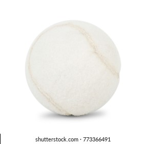 White tennis ball