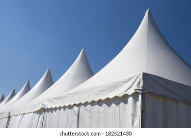 White tent spiers 3