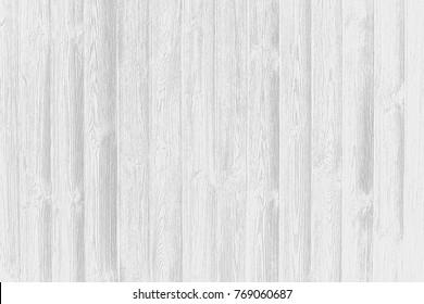 White texture of aged pine wood. Abstract gray scale background wallpaper.