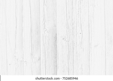 White texture background of old pine wood. Distressed grayscale wooden background. Table top view. White washed wood texture.