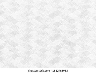White texture of Japanese paper