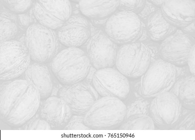 White texture of walnuts. Abstruct vintage background wallpaper.
