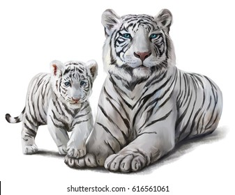 white tiger images, stock photos & vectors | shutterstock