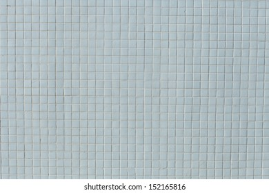 white tile, the mozayka isolated without people.