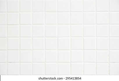 White tile wall,background for design.