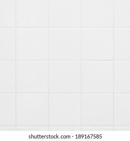 White tiles in a bathroom