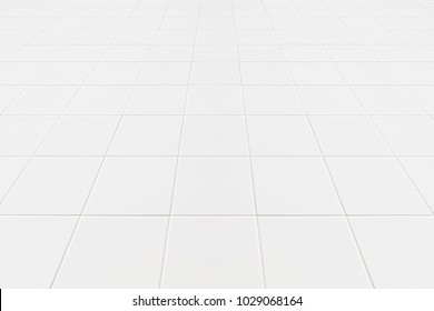 White tiles floor texture for the decoration of the bedroom.