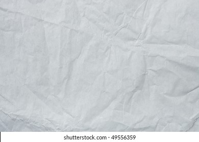White Tissue Paper Texture. Focus across entire surface.