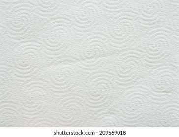 White toilet paper background or texture