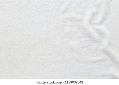 White towel texture  for background.