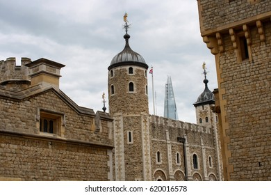 the white tower in london