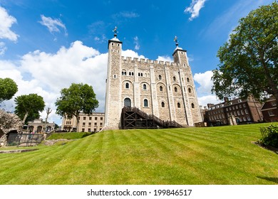 The White Tower, London - England. Is a central tower, the old keep, at the Tower of London. It was built by William the Conqueror during the late 11th century, and subsequently extended.