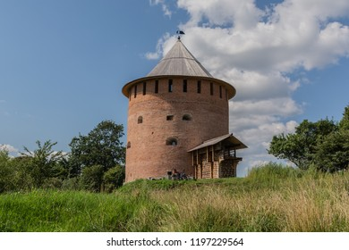 White Tower. Novgorod the Great. Architectural monument