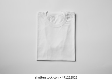 White T-Shirt Mock-up, ready to replace your design