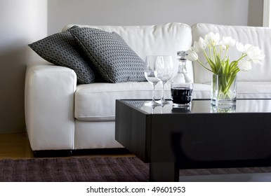 Swell Leather Couch And Wine Images Stock Photos Vectors Gamerscity Chair Design For Home Gamerscityorg