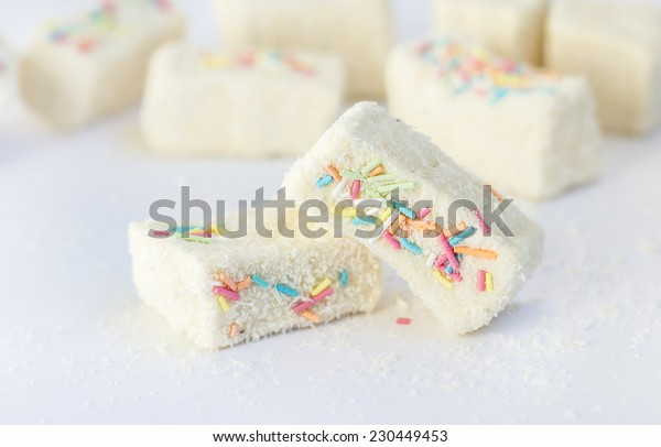 White turkish delight