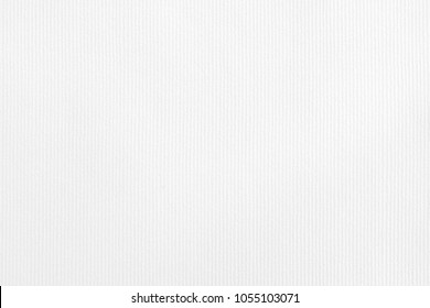 White vertical striped embossed paper surface for background. White striped paper texture.