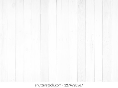 White vertical wood boards. Wooden planks on a wall or floor with grain and texture. Light neutral flat faded tones.