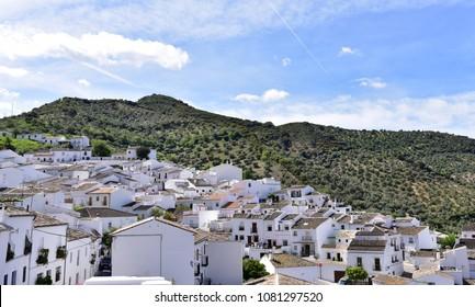 The White Villages, Pueblos Blancos, Zahara de la Sierra, Andalusia, Spain