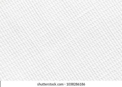 white waffle cotton towel, napkin. Close up. Background image, texture